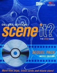 Scene it Deluxe Sequel DVD Movie Trivia Game by ()