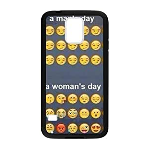 SKCASE Cover Case for Samsung Galaxy S6 Cool Smiley Crying Faces emoji Funky Funny