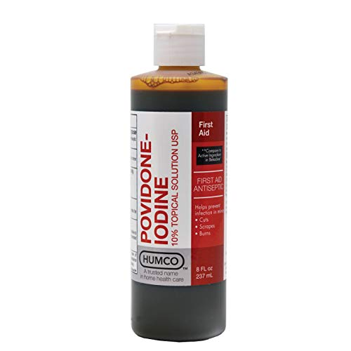 - Povidone Iodine 10% Topical Solution, 16 oz.