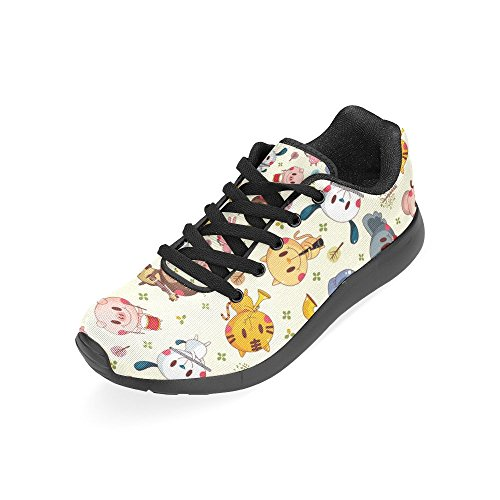 Road Elephant Lightweight Jogging Athletic Womens Shoes Sports Running Pig Walking Sneakers InterestPrint and Cute On1HqI5wI