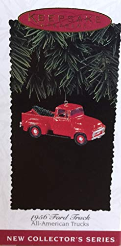 All-American Trucks 1956 Ford 1st in Series 1995 Hallmark Keepsake Ornament QX5527