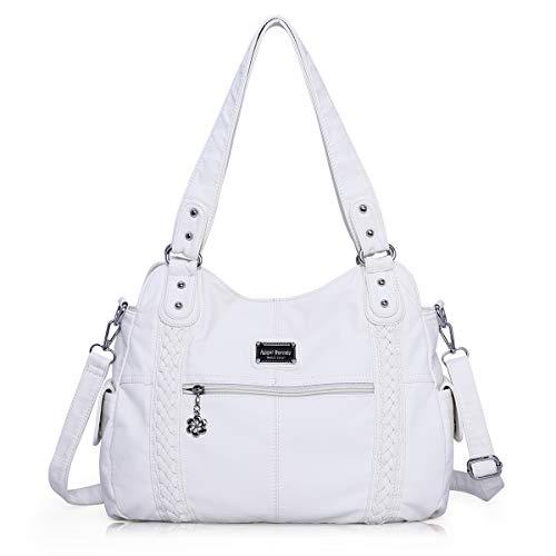 White Hobo Handbags - 6