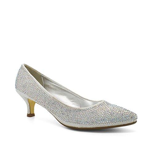 Con Sandali London Argento Zeppa Footwear Donna argento qEwa51wT