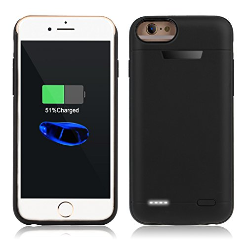Iphone Portable Protective Rechargeable Black