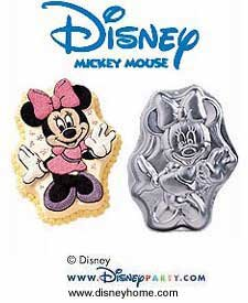 Wilton Minnie Mouse Cake Pan #2105-3602 (1998)