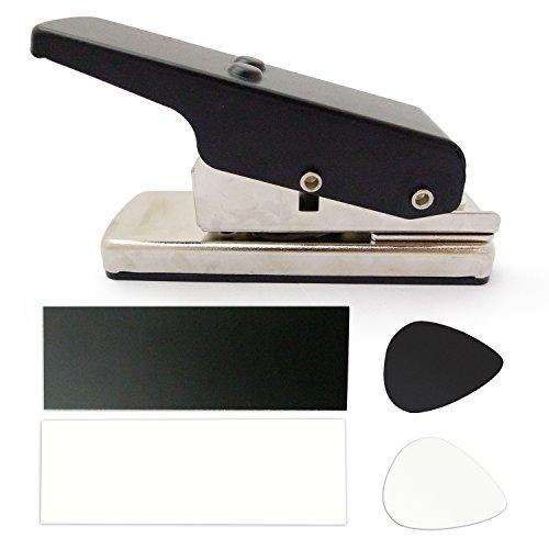 Plectrum Guitar Punch Picks Maker Card Cutter Black (MU0001)]()