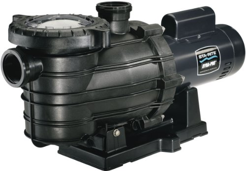 - Pentair Sta-Rite MPRA6F-206L Dyna-Pro Standard Efficiency Single Speed Up Rated Self-Priming Pool and Spa Pump, 1-1/2 HP, 115/230-Volt