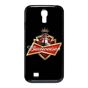 DIY Stylish Printing Budweiser Cover Custom Case For Samsung Galaxy S4 I9500 MK2F2711