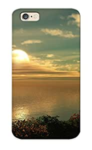 Hot Tpu Cover Case For Iphone/ 6 Case Cover Skin Design - Sunset Over The Sea