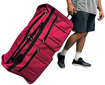 Image Unavailable. Image not available for. Color  Gothamite 36-inch  Rolling Duffle Bag with Wheels ... 658d4eb6f5