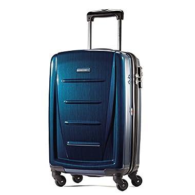 Samsonite Winfield 2 Fashion 20  Spinner (Deep Blue, 20-inch)