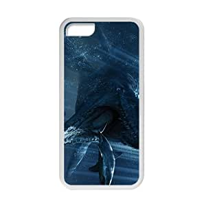 and Fashion Style Jurassic Park White For Ipod Touch 5 Phone Case Cover