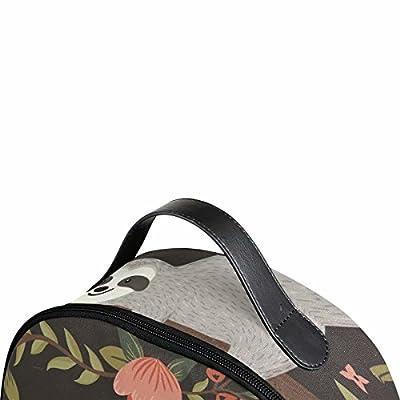 Sloth School Backpack for Girls Elementary 12.6