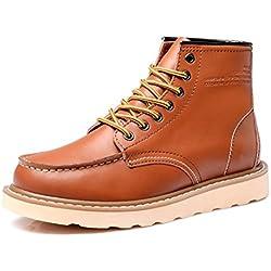YINHAN Men's Martin Booties Casual Chukka Shoes