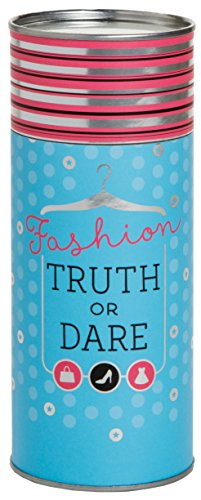 Chronicle Books Fashion Truth Or Dare (Sleepover Party Game for Girls, Truth Or Dare Game for Tweens & Teens) (The Best Truth Or Dare Questions For A Girl)