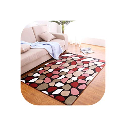 80 X120Cm Thicken Bedroom Mats Living Room Printing Blankets Home Rugs Bathroom Toilet Cushions Door Mat Carpet,5,140Cm X200Cm