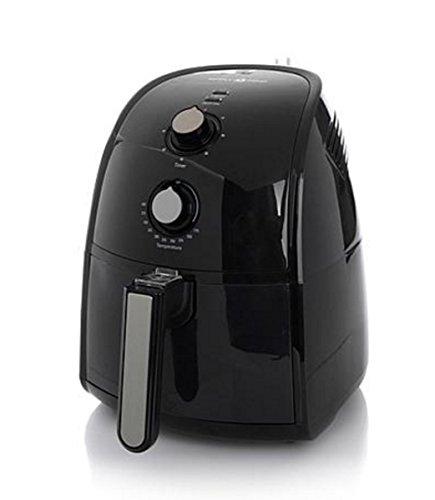 Simply Ming Black Healthy Fry Ceramic Air Fryer