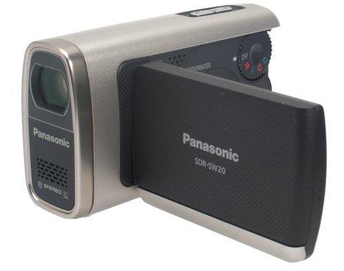 Panasonic 水深1.5m30分までの防水機能搭載のSDビデオカメラ SDR-SW20-S   B074DZ524F