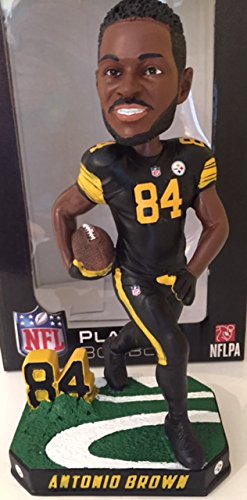 Antonio Brown Pittsburgh Steelers Special Edition Color Rush Bobblehead NFL