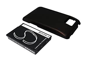 Extended Battery for Motorola Droid Bionic, XT875, Atrix 2, Droid Bionic XT875 (With back cover)