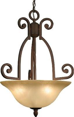 Volume Lighting V5833-31 Isabela 3-Light Italian Dusk Chandelier