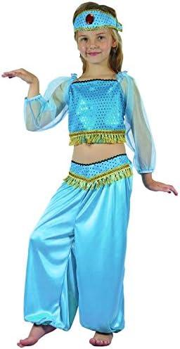 Disfraz bailarina oriental azul niña - 4 - 6 años: Amazon.es ...