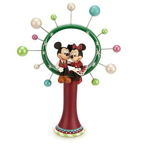 Mickey and Minnie Mouse Christmas Tree Topper by Disney