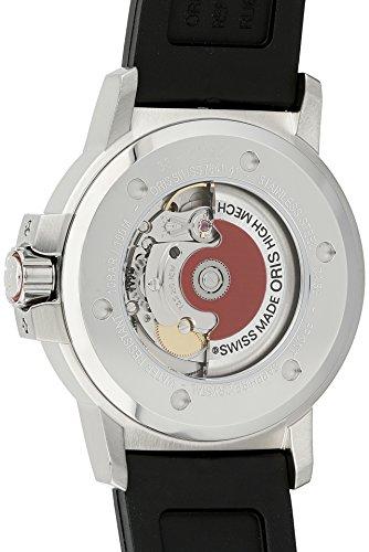 Oris Men s 73576414164RS BC3 Rubber Strap Black Dial Watch