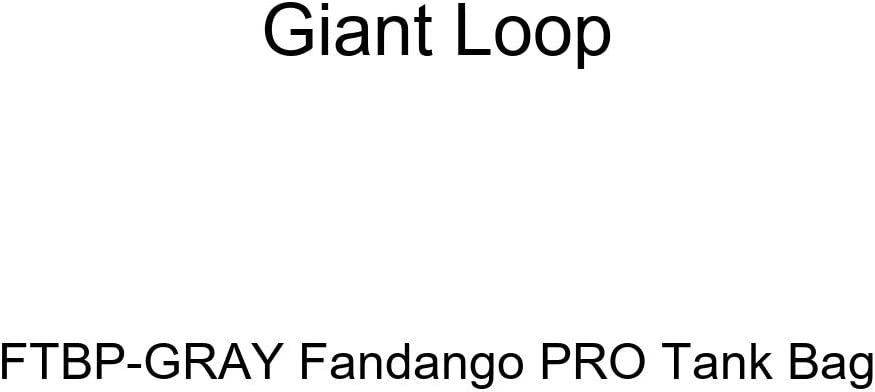 Giant Loop FTBP-Gray Fandango PRO Tank Bag