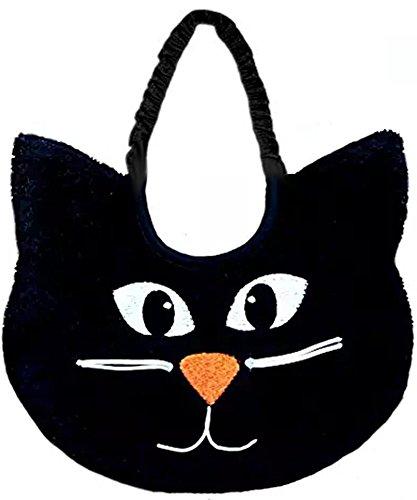 Zigozago - Baby Bib BLACK CAT - HALLOWEEN - Tie: String - One -