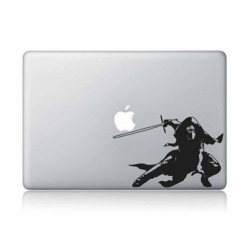 Kylo Ren Lightsaber Star Wars Apple Macbook Laptop Decal Vinyl Sticker Apple Mac Air Pro Retina