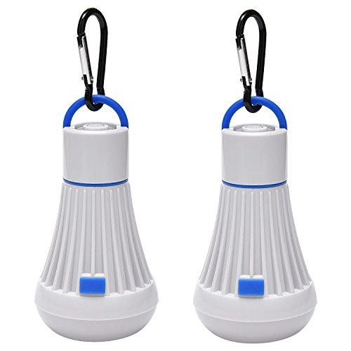 PACEARTH Tienda de Campaña Bombilla Linterna Linterna 6LED 3W 4 Modos Luces de Camping para Acampar Senderismo Emergencias...