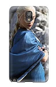 Hot Daenerys Targaryen In Game Of Thrones First Grade Tpu Phone Case For Galaxy Note 3 Case Cover