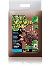 Exo Terra Riverbed Sand - Brown - 10 lb (4.5 kg), 10-Pound