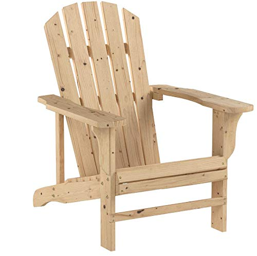 Leigh Country Fir Unpainted Adirondack Chair by Leigh Country