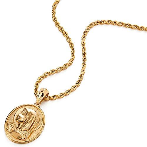 837f6e352897 Color Oro Medalla Milagrosa Virgen María Marry