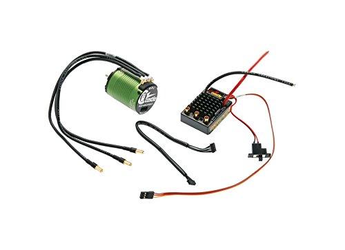 (Castle Creations Sv3 Waterproof 1:10Th 12V Esc & 1406-4600 Sensored Motor)