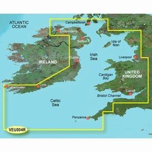 - Garmin VEU004R - Irish Sea - SD Card