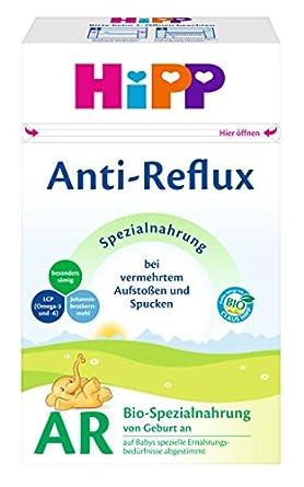 Hipp Orgánico AR Combiotik fórmula anti-reflujo infantil - desde el nacimiento, 4-