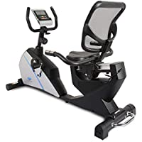 Welcare WC1588 Recumbent Exercise Bike with Adjustable Seat, Magnetic Resistance, Pulse Monitor and LCD Display
