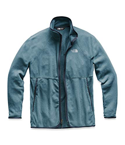 The North Face Women's Glacier Alpine Full Zip, Storm Blue Heather, Size S