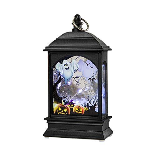 Halloween Pumpkin Light DOOIOR Lamp Door Room Decoration LED Lantern Party Home Props Halloween Night Lights Copper Line]()