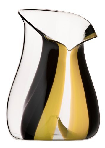 - Riedel Hand-Made Lead Crystal Champagne Cooler, 11-Inch, Yellow