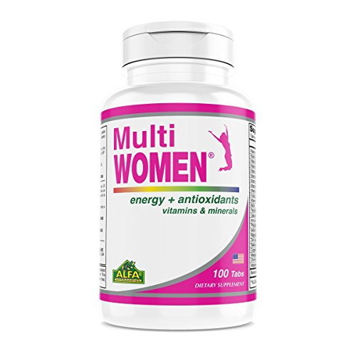 Multi Women 100 Tablets - Dietary Supplement - Vitamins & Minerals - Herbs - Amino Acids - - Mineral Amino Multi Acid
