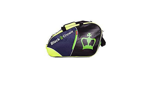 Amazon.com : PADEL BAG - SUN GREEN - BLAC CROWN : Sports ...