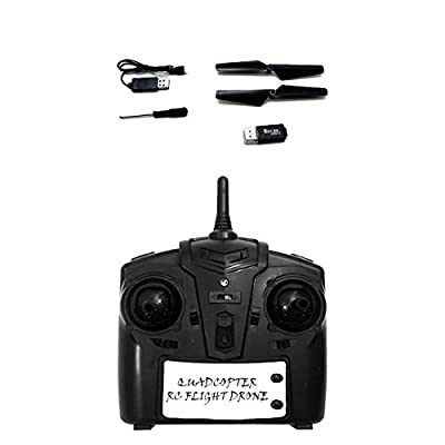 Aerial RC Quadcopter Drone 2.4GHz 6-Axis Radio Controlled with In Flight Video/Photo Camera Recorder