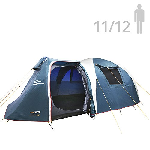 NTK Super Arizona GT up to 12 Person 20.6 by 10.2 by 6.9 Height Foot Sport Family XL Camping Tent...