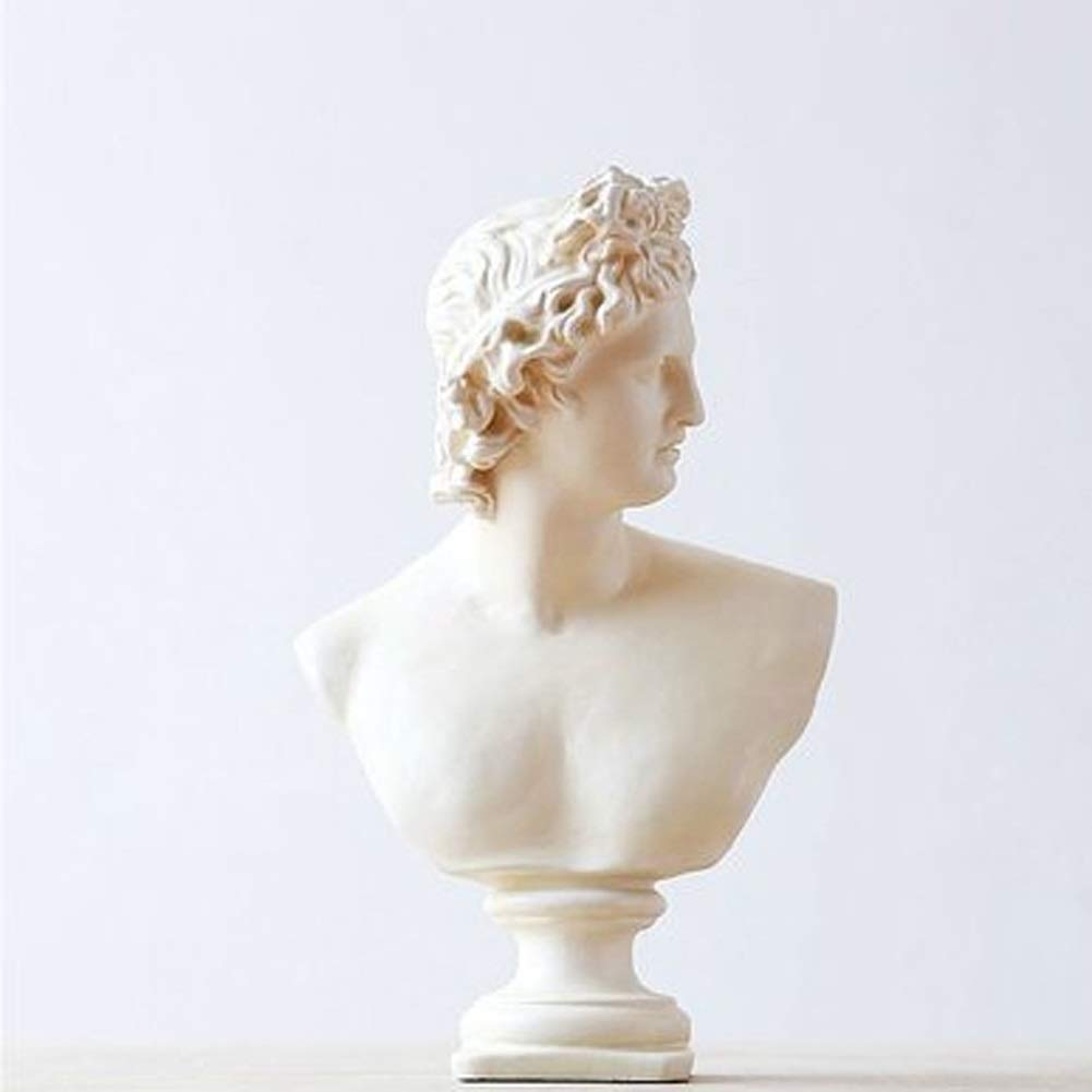 David resin statue sculpture bust