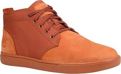 8b28b1e6 Timberland Men's Groveton Lace to Toe Chukka Boot, Burnt Orange Nubuck, ...