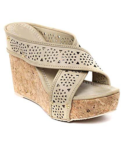 Stepee Sandal for Women Wedges Stylish Footwear